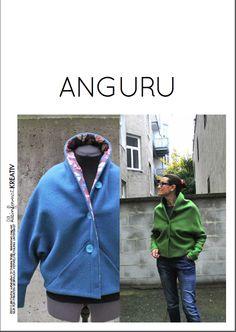 Image of kleinformat kreativ ANGURU JACKE Schnitt/ jacket pattern (engl. version incl.)