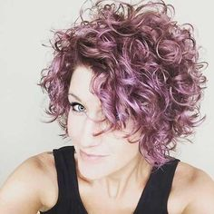 Classy & Curly Pixie Haircut For Women - Reny styles