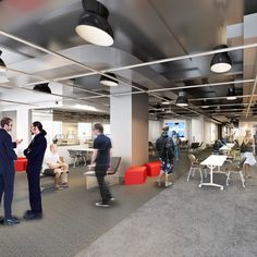 "After ""The Old New York Times Building"" was vacated by the newspaper, Gensler partnered with Blackstone Group to provide repositioning..."