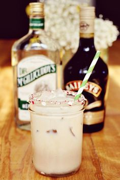 Peppermint White Russian… a perfect Holiday cocktail!