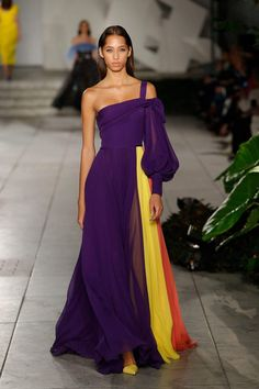 Carolina Herrera; beautiful use of colors.