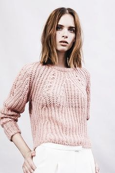 Pink jumper, Whistles Resort 2014   AnOther Loves