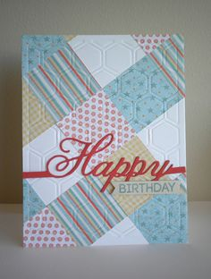 Quilted Birthday | Flickr - Photo Sharing!