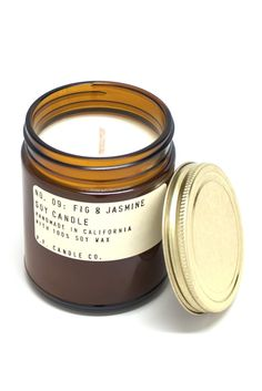 Fig & Jasmine Candle - two unexpected scents meld perfectly in this P.F. Candle Co. creation! $18.