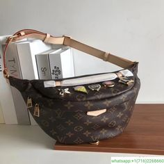 4d7fb32c00de  louis vuitton monogram bumbag louisvuitton bumbag  Mono BUMBAG badge bumbag  Bum Bag,
