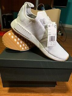 2017 Adidas NMD_R1 PK Mens 'Gum Pack' WHITEGUM Price At a