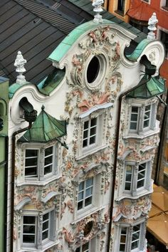 Innsbruck Altstadt,Austria: