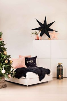 #Kremmerhuset #stjerne #julestjerne #jul #julepynt #pute #putetrekk