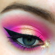 Eye Inspiration: #LinerUpSweeps by Strawberica. Enter for a chance to win a $1K Sephora Shopping Spree. Upload your eyeliner look to Sephora.com's The Beauty Board by 10/20/14 and tag it #linerupsweeps