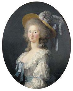 1781 or 1782 Princesse de Lamballe by Élisabeth-Louise Vigée-Lebrun