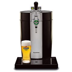 BeerTender chills and maintains DraughtKeg at the correct temperature and with its traditional tap handle provides you with an authentic draught beer experience. $150.00