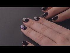 Tuto Nail Art Tuto nail art : paillettes au scotch – tous les tutoriels manucure We Love Nail Art