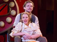 jason danieley and Jessie Mueller star in Carousel as Enoch and Carrie