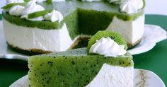 Zutaten  für das Rezept Kiwi-Torte   Für die Springform (Ø 26 cm):  etwas  Fett          Backpapier       Knetteig:  125 g  We...