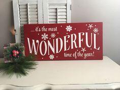 It's a Wonderful Life Wood Sign - Christmas Wood Signs - Christmas Decorations - Christmas Signs - Holiday Decor - Mantle Decor by EastCoastChicagoan on Etsy https://www.etsy.com/listing/474684431/its-a-wonderful-life-wood-sign-christmas
