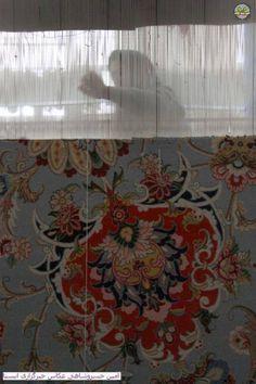 tessitura tappeto persiano, l'Iran & hellip; handwoven tappeto