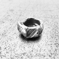 Mystery Ring ] Silver landscapes by Chin Teo for Fallow ] Available in the Arthur Street [ art space ] Or Online  www.fallow.com.au