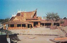 Adventureland under construction, 1954