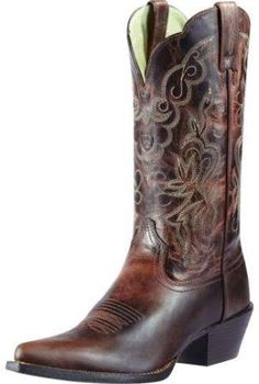 womens brown ariat western boots - Google Search