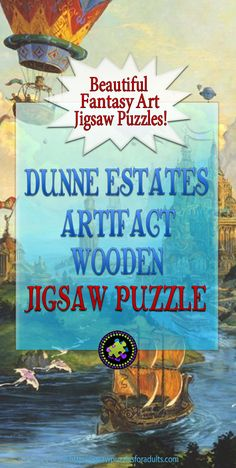 Dunne Estates Artifact Wooden Jigsaw Puzzle is a medium difficulty jigsaw puzzle with stunning colors and wacky whimsy pieces. Difficult Jigsaw Puzzles, Wooden Jigsaw Puzzles, Escape Room Puzzles, Model Hobbies, Cool Art, Awesome Art, Puzzle Art, Fantasy Artwork, Quality Time