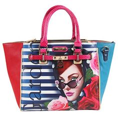 Nicole Lee Nicole Lee Lady In Red Print Shoulder Bag Lady In Red One Size *** Check this awesome product by going to the link at the image.