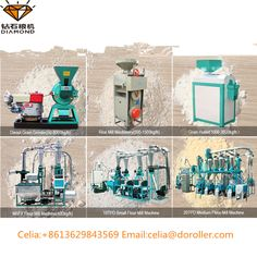 Henan Zhongyuan Roller Co. Flour Mill Machine, Rice Mill, Milling Machine