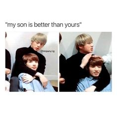 MY MOM IS ALSO BETTER THAN YOURS JIN EOMMA I LOVE YOU