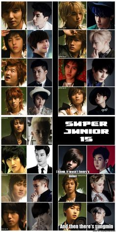 Leetukie is aging backwards i must say, Kibum is still the same, Shindong has lost weight,Heechul is still 'the fabulous', Hangeng looks mature now(like a man), Zhoumi umm don't know much about him, Siwon has become chubby(face), omg Yesung looked so baby faced back then!!,Donghae also looks mature now,Eunhyuk is still the same too,Kyuhyun's face is also chubby now(in a good way), Ryeowook doesn't age too,Henry umm he looks young, Kangin looks handsome in blonde tho, and then ther's sungmin