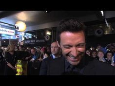 ▶ That awkward moment when Hugh Jackman remembers he taught you at school - YouTube
