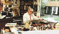 Rien Poortvliet, artist and illustrator