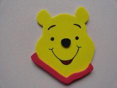 Figuras Winnie Pooh Y Sus Amigos En Goma Eva P brochette Sorpresas De  Cumpleaños c0f2791db5a