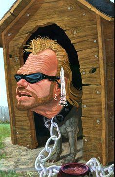 Dog the Bounty Hunter. Duane Chapman