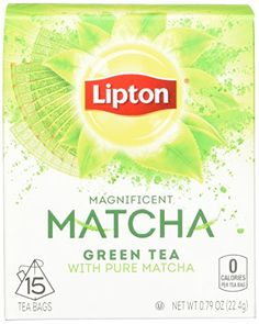 Lipton Green Tea Bags, Matcha Green Tea 15 ct (Pack of 4) ** Check out the image by visiting the link.