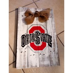 Ohio state pallet on Etsy, $30.00 Perfect Christmas gift!