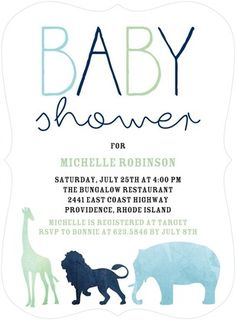 Wee Expedition: Avocaado - Baby Shower Invitations - Tallu-lah - Avocado - Green : Front