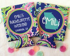 Looking to incorporate your bachelorette theme into your party favors? Our friends at Brant Point Prep have the cutest personalized coozies for any theme! Nautical Bachelorette Party, Bachelorette Party Planning, Bachelorette Party Decorations, Bachelorette Weekend, Bridesmaid Favors, Bridesmaids, Birthday Favors, Nantucket, Nashville