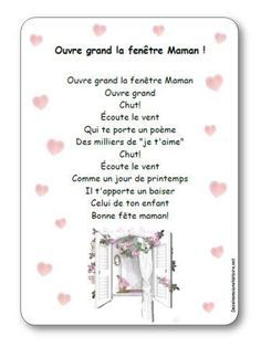 Comptine Ouvre grand la fenêtre Maman Dad Day, Mom And Dad, Cadeau Parents, French Songs, Working With Children, Thoughts And Feelings, Mother And Father, Learn French, Fathers Day