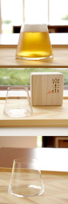 Mt. Fuji glass by good design company