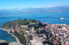 The great Nafplio from Palamidi. All I Ever Wanted, Us Travel, Places Ive Been, Cruise, Beautiful Places, Adventure, Vacation, Visit Greece, City