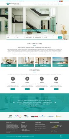 Marbella Theme - our most popular pre-theme for QRES On Demand Real Estate Web Solutions. Marbella Property, Real Estate Software, All Design, Popular, Website, Building, Most Popular, Buildings, Popular Pins