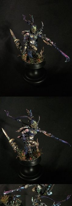 CoolMiniOrNot - Dark Eldar Succubus 2 by flunkUtron