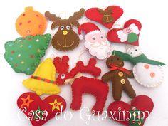 Enfeites de Natal / Christmas ornaments by A.casa.do.Guaxinim, via Flickr