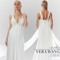 mobile site-13 new gown v-neck backless Greek goddess of flowers trailing GLORIA of cultivate one's morality.... Love this dress!!!