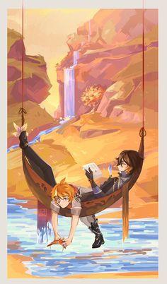 Albedo, Anime Kawaii, Ship Art, Of Wallpaper, Animes Wallpapers, Cute Drawings, Game Art, Art Inspo, Anime Characters