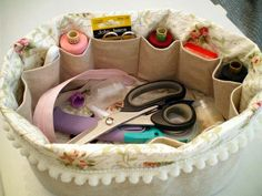 #Sewing #basket #tutorial
