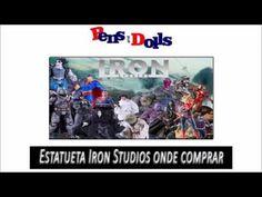 Estatueta Iron Studios onde comprar - Pens and  Dolls