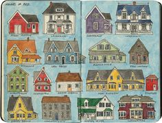 A smattering of my favorite houses around beautiful Prince Edward Island, Canada.