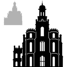 Silhouette Online Store View Design 5034 Lds Temples