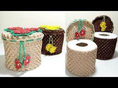 Crochet Snowflake Pattern, Crochet Bikini Pattern, Crochet Snowflakes, Crochet Patterns, Crochet Dishcloths, Knit Crochet, Fillet Crochet, Crochet Home Decor, Toilet Paper Roll
