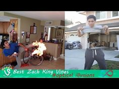New Best Optical illusions Vines Compilation 2015 #Zach King (+80 Vines) - YouTube
